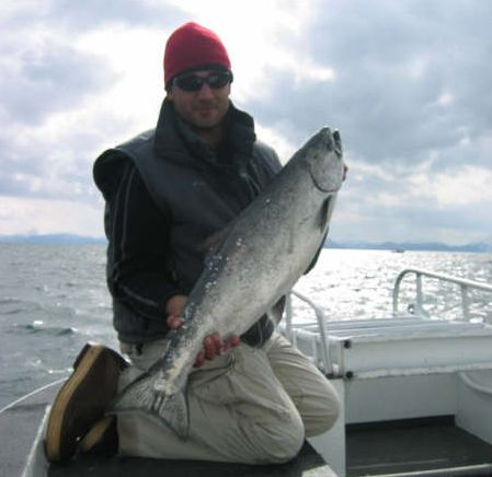 Homer Saltwater Salmon Trolling Charters