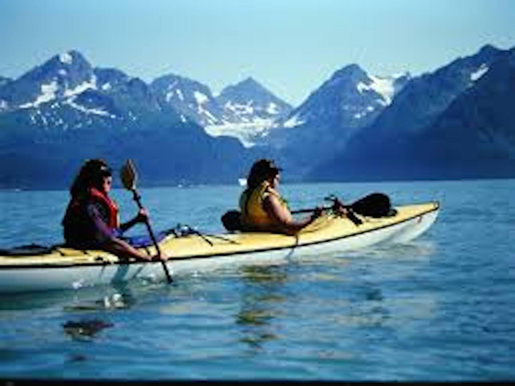 Kayaking Mountains Land S End